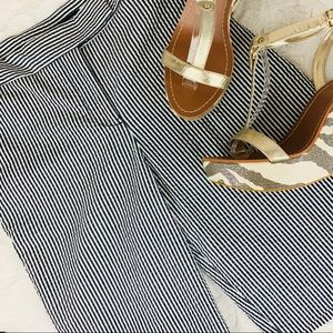 Jones NY | Seersucker Shorts | Blue | 12